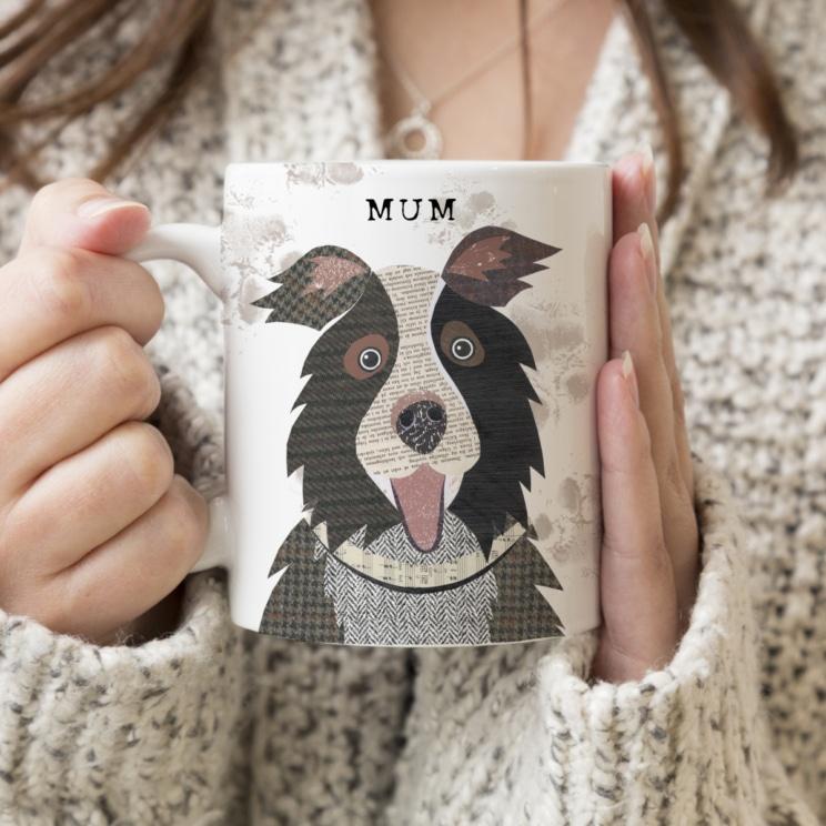 Border Collie Mug from Simon Hart