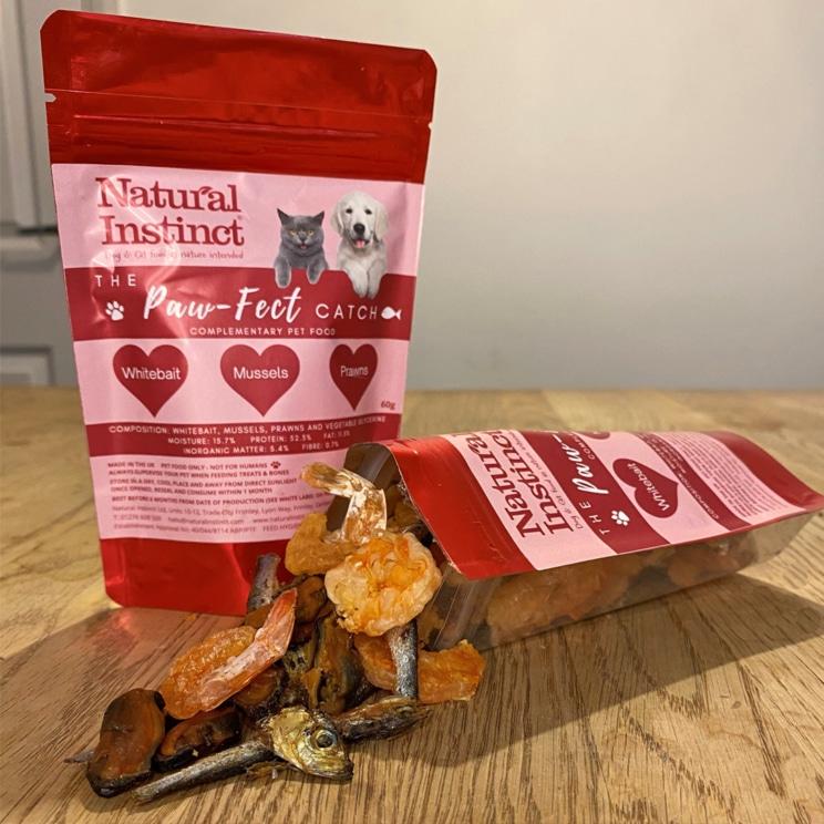 Natural Instinct, Paw-Fect Catch dog treats