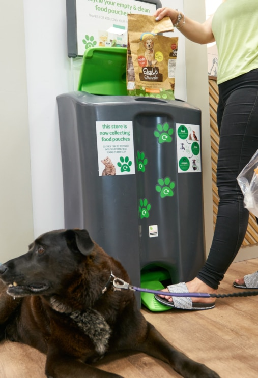 Recycle your pet food packaging at Pets at Home